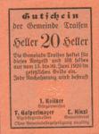 Austria, 20 Heller, FS 1076Ib