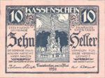 Austria, 10 Heller, FS 1077a