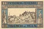 Austria, 20 Heller, FS 1066