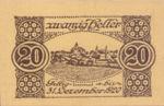 Austria, 20 Heller, FS 1068d