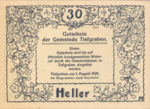 Austria, 30 Heller, FS 1071