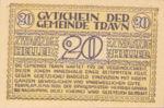 Austria, 20 Heller, FS 1080