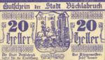 Austria, 20 Heller, FS 1116I