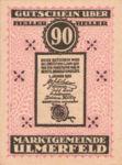 Austria, 90 Heller, FS 1089IIa