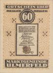 Austria, 60 Heller, FS 1089IIa