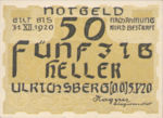 Austria, 50 Heller, FS 1091a