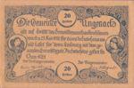 Austria, 20 Heller, FS 1092b
