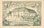 Austria, 10 Heller, FS 1102