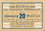 Austria, 20 Heller, FS 1117Ia