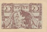 Austria, 20 Heller, FS 1261a
