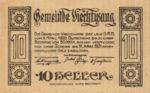 Austria, 10 Heller, FS 1109