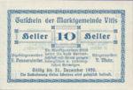 Austria, 10 Heller, FS 1115I