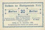 Austria, 20 Heller, FS 1115I
