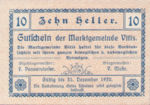 Austria, 10 Heller, FS 1115II