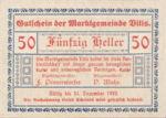 Austria, 50 Heller, FS 1115II