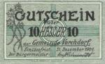 Austria, 10 Heller, FS 1119a