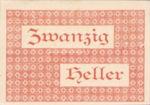 Austria, 20 Heller, FS 1120