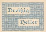 Austria, 30 Heller, FS 1120