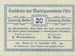 Austria, 20 Heller, FS 1115II