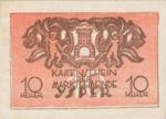 Austria, 10 Heller, FS 1261b