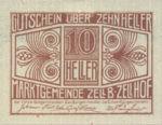 Austria, 10 Heller, FS 1274a