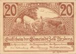 Austria, 20 Heller, FS 1273a