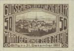 Austria, 50 Heller, FS 1274a