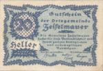 Austria, 20 Heller, FS 1265h