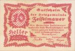 Austria, 10 Heller, FS 1265g