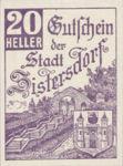 Austria, 20 Heller, FS 1277a