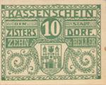 Austria, 10 Heller, FS 1277b