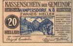 Austria, 20 Heller, FS 1138a