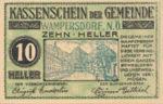 Austria, 10 Heller, FS 1138b