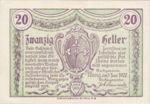 Austria, 20 Heller, FS 1139