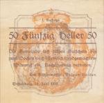 Austria, 50 Heller, FS 1144I