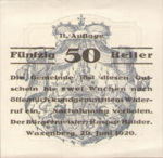 Austria, 50 Heller, FS 1144II