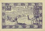 Austria, 20 Heller, FS 1152a