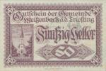 Austria, 50 Heller, FS 1155a