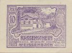 Austria, 10 Heller, FS 1156Aa