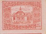 Austria, 20 Heller, FS 1156Aax