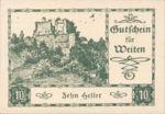 Austria, 10 Heller, FS 1162b