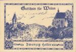 Austria, 20 Heller, FS 1162b