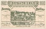 Austria, 20 Heller, FS 1163a