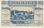 Austria, 50 Heller, FS 1163a