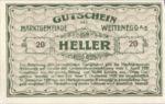 Austria, 20 Heller, FS 1163b