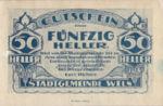 Austria, 50 Heller, FS 1167II.1