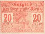 Austria, 20 Heller, FS 1171I.2