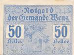 Austria, 50 Heller, FS 1171I.4
