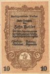 Austria, 10 Heller, FS 1173a