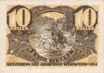 Austria, 10 Heller, FS 1174a